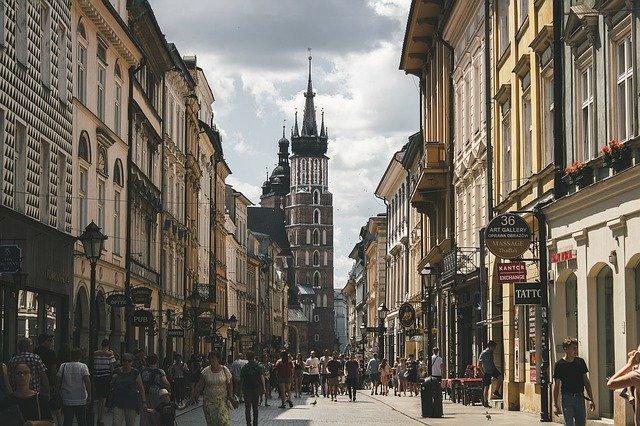 Zdjęcie do tekstu - Największe miasta - Kraków