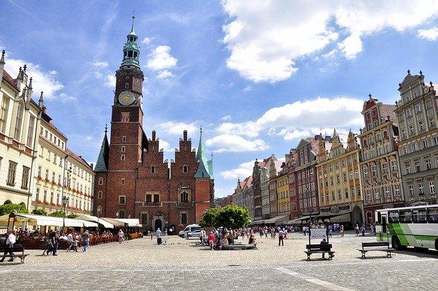 Zdjęcie do tekstu - Największe miasta - Wrocław